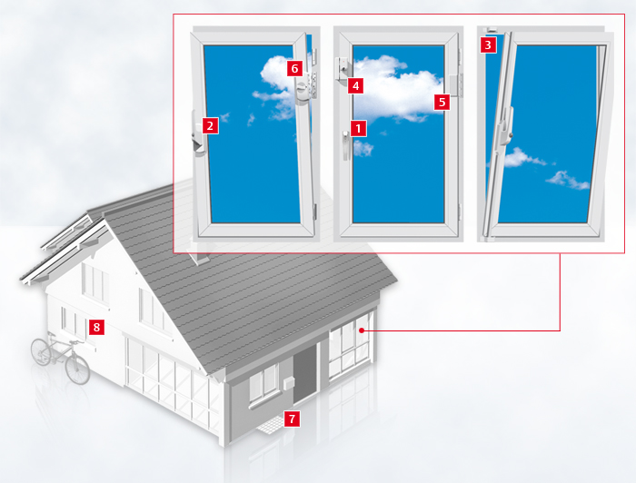Schlüsseldienst Bonn erhöht auch Ihren Fenster Einbruchschutz